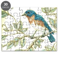 """EASTERN BLUEBIRD"" Puzzle"