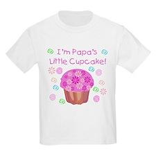 Papas Little Cupcake T-Shirt