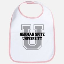 German Spitz UNIVERSITY Bib