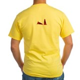 Cars Mens Classic Yellow T-Shirts