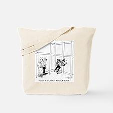 Toughest Inspector Around Tote Bag
