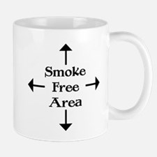 Smoke Free Area Mug