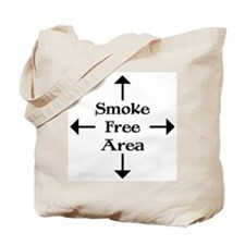 Smoke Free Area Tote Bag