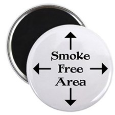 Smoke Free Area Magnet