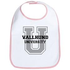 Vallhund UNIVERSITY Bib