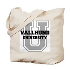 Vallhund UNIVERSITY Tote Bag