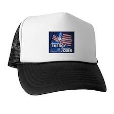 American Energy = American Jobs Trucker Hat