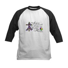 Autism ribbon with Cross Tee