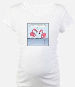 Pink Flamingos Cartoon Shirt