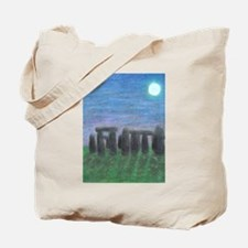Stonehenge in Moonlight Tote Bag