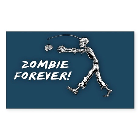 Perpetual Zombie Sticker (Rectangle)