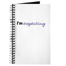 Im Expecting (Blue) Journal