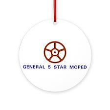 General 5 Star Ornament (Round)