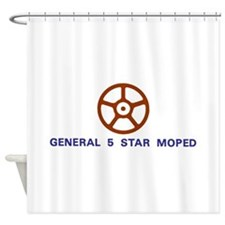 General 5 Star Shower Curtain