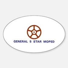 General 5 Star Decal