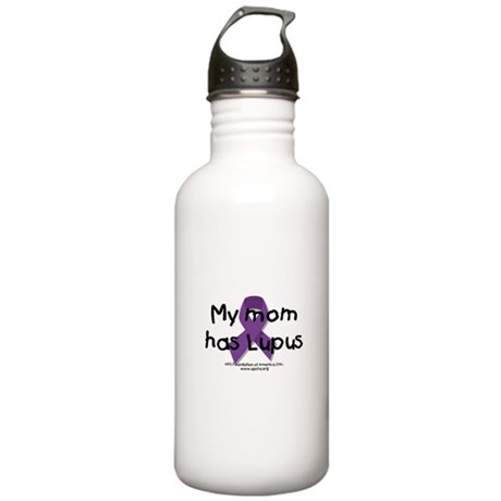 My Mommy/Daddy has Lupus Stainless Water Bottle 1.