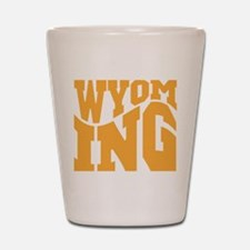 Wyoming Shot Glass