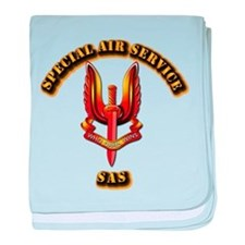 UK - Special Air Service baby blanket