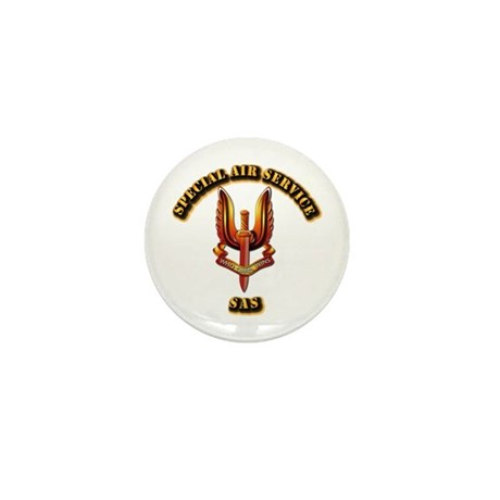 UK - Special Air Service Mini Button (100 pack)