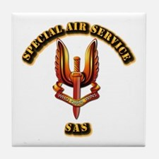 UK - Special Air Service Tile Coaster