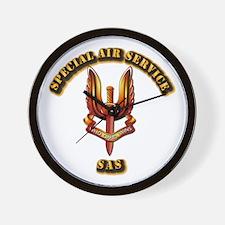 UK - Special Air Service Wall Clock
