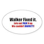 Walker2 Sticker