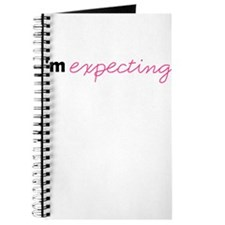 Im Expecting (Pink) Journal