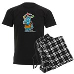 Doggy Men's Dark Pajamas