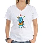 Doggy Women's V-Neck T-Shirt