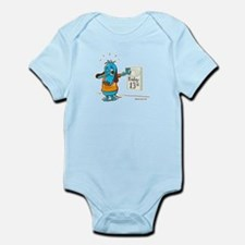 Superstitious Doggy - Friday Infant Bodysuit