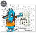 Superstitious Doggy - Friday Puzzle
