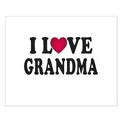 I Love Grandma Posters