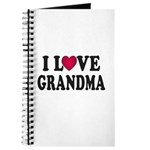 I Love Grandma Journal