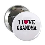 "I Love Grandma 2.25"" Button (100 pack)"