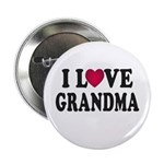 "I Love Grandma 2.25"" Button (10 pack)"