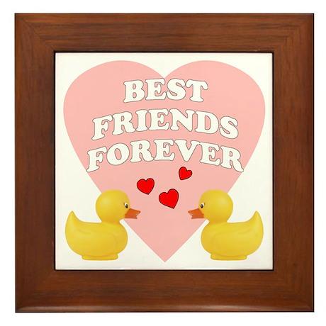Best Friends Forever Framed Tile