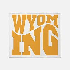 Wyoming Throw Blanket
