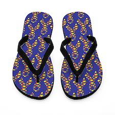 Autism Puzzle Ribbon Flip Flops