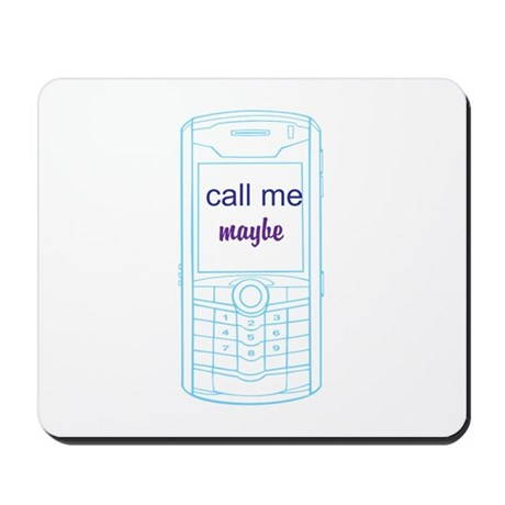 Call Me maybe cell Mousepad