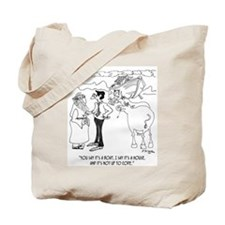 Noah's Not Up To Code Tote Bag