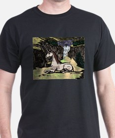 "Colorized ""Unicorn in the Mountains"" T-Shirt"