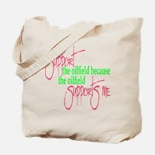 I support...Supports Me Tote Bag