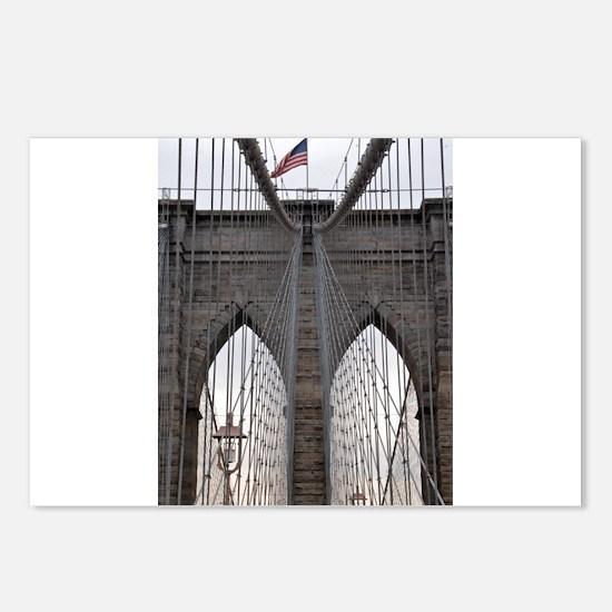 Brooklyn Bridge: No.6 Postcards (Package of 8)