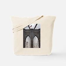 Brooklyn Bridge: No.6 Tote Bag