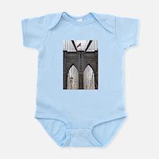 Brooklyn Bridge: No.6 Infant Bodysuit