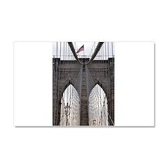 Brooklyn Bridge: No.6 Car Magnet 20 x 12