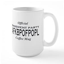 BP AFKBPOFPOPL B&W Official Coffee Mug (Large)