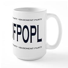 Basement Party AFKBPOFPOPL B&W #2 Mug