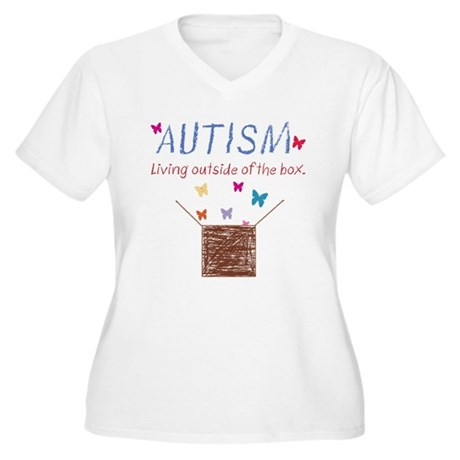 autism-outsidethebox Plus Size T-Shirt