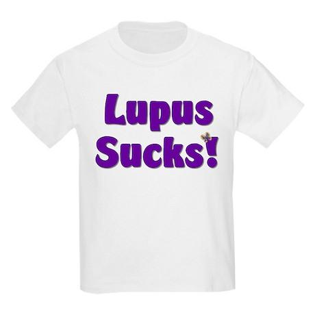 Lupus Sucks! Kids Light T-Shirt